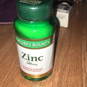 Accessories - Zinc  50 mg nature's bounty